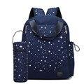 Bolsa de pañales de moda multifuncional de doble hombro mochila bolsa de mensajero del bolso de maternidad de gran capacidad bolsas