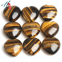 Wholesale 9pcs 4cm Natural Crystal Craft Christmas Birthday Valentine S Gift Tiger Eye Heart Home Decoration