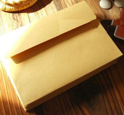 10pcs/lot  175*125mm/New Vintage Nature Style Blank Kraft Paper Envelopes Students' DIY Multifunction Gift Envelope
