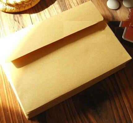 10pcs/lot  175*125mm/New Vintage Nature Style Blank Kraft Paper Envelopes Students' DIY Multifunction Gift Envelope
