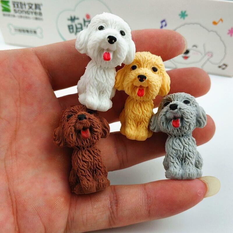 36 pçs lote cão kawaii projeto da
