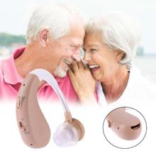 New USB Charging Adjustable Hearing Aid Loudspeaker Voice Amplifier Earphone Gift for the Old Fashionable Bluetooth Appearance