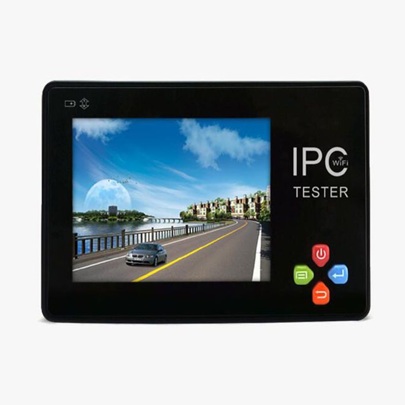 CCTV Camera Tester 3.5 inch 4K H.265 IP & CVBS Android system IP Camera tester touch screen, IP+ Analog Tester Built-in WIFI
