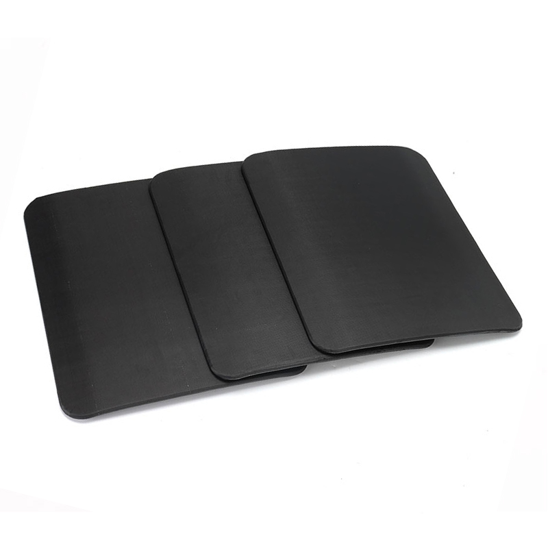 Bulletproof Ballistic Panel Protector Body Armor Plate Steel Panel Alumina & PE Lvl IV Bulletproof Panel With 2.3mm Thickness