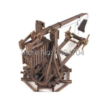 The Age of empires model kits Trebuchet Wooden Model Children's Model Puzzle kits