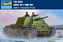 Трубач модель 09503 1/35 Советский KV-7 Мод 1941