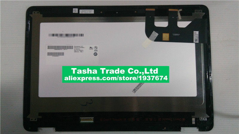 LED LCD Assembly Touch Screen Replacement For Asus UX360C Series UX360CA WUXGA FHD With Bezel B133HAN02.7 13 3 lcd screen display panel matrix replacement for asus zenbook ux360c ux360u ux360ca 1920x1080 edp 30 pin ips fhd non touch page 8