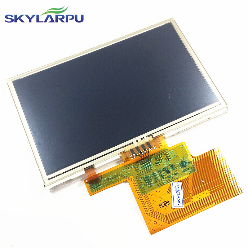 skylarpu 4.3 inch LMS430HF29 LMS430HF29-002 LMS430HF29-003 LCD display screen with touch screen digitizer panel free shipping new 4 3 inch lcd screen touch screen lms430hf11 003 free shipping