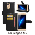 For Leagoo M5 Case Wallet Style PU Leather Case For Leagoo M5 With Stand Function And Card Holder