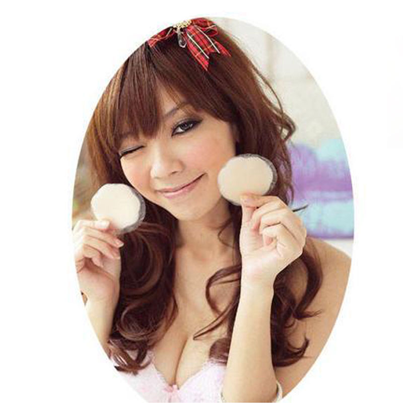 Buy 1Pair Round Flower Sexy Underwear Adhesive Reusable Invisible Bra Support Silicone Breast Nipple Cover Bra Pad Stickers Breast