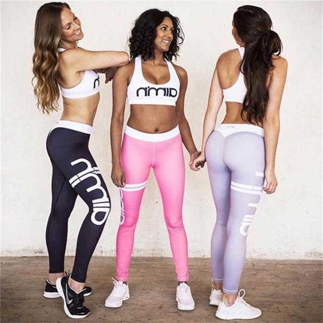Visualizzza di più. Xizilang set yoga fitness abbigliamento sportivo abiti  reggiseno + pantaloni training leggings set corsa e jogging d9726da02c7