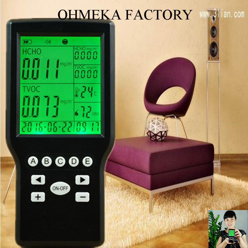 free shipping Indoor Air Quality Monitor and Controller for Car JSM131S digital indoor air quality carbon dioxide meter temperature rh humidity twa stel display 99 points made in taiwan co2 monitor