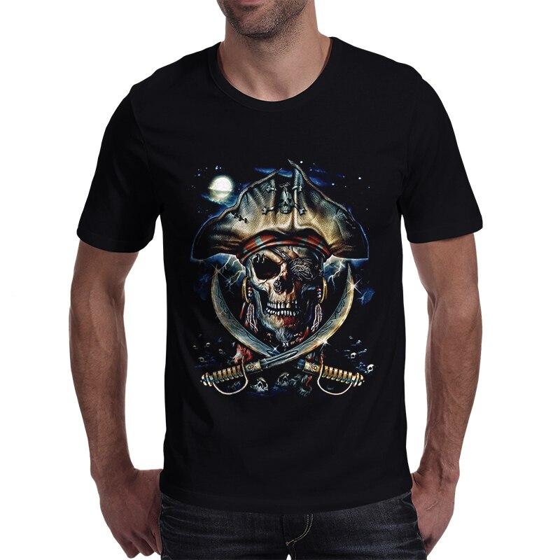 Menbone nouvelle arrivée pirate conception t chemise pour hommes marque haute qualité casual O-cou t-shirts d'été conception fraîche à manches courtes mâle top