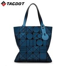 Neue BaoBao geometrische blitz Lingge frauen handtaschen BAO BAO Tasche damen schulter Japanischen stil folding frauen taschen Mit Logo