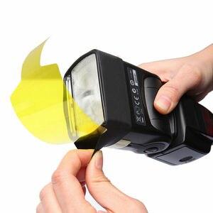 Image 3 - 20pcs Flash Speedlite Color Gels Filters for Canon Camera Photographic Gels Filter Flash Speedlite Speedlight