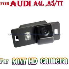 Провода беспроводной HD автомобильный камера заднего вида lincense plate света камеры ночного видения SONY CCD AUDI A4L A5 TT парковка помочь