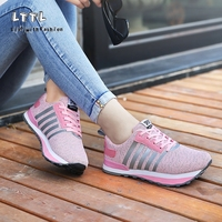 THE BEST 2017 New FASHION Orthopedic Shoes For Women Cow Elastic Fabric Negative Heel Earth Shoes