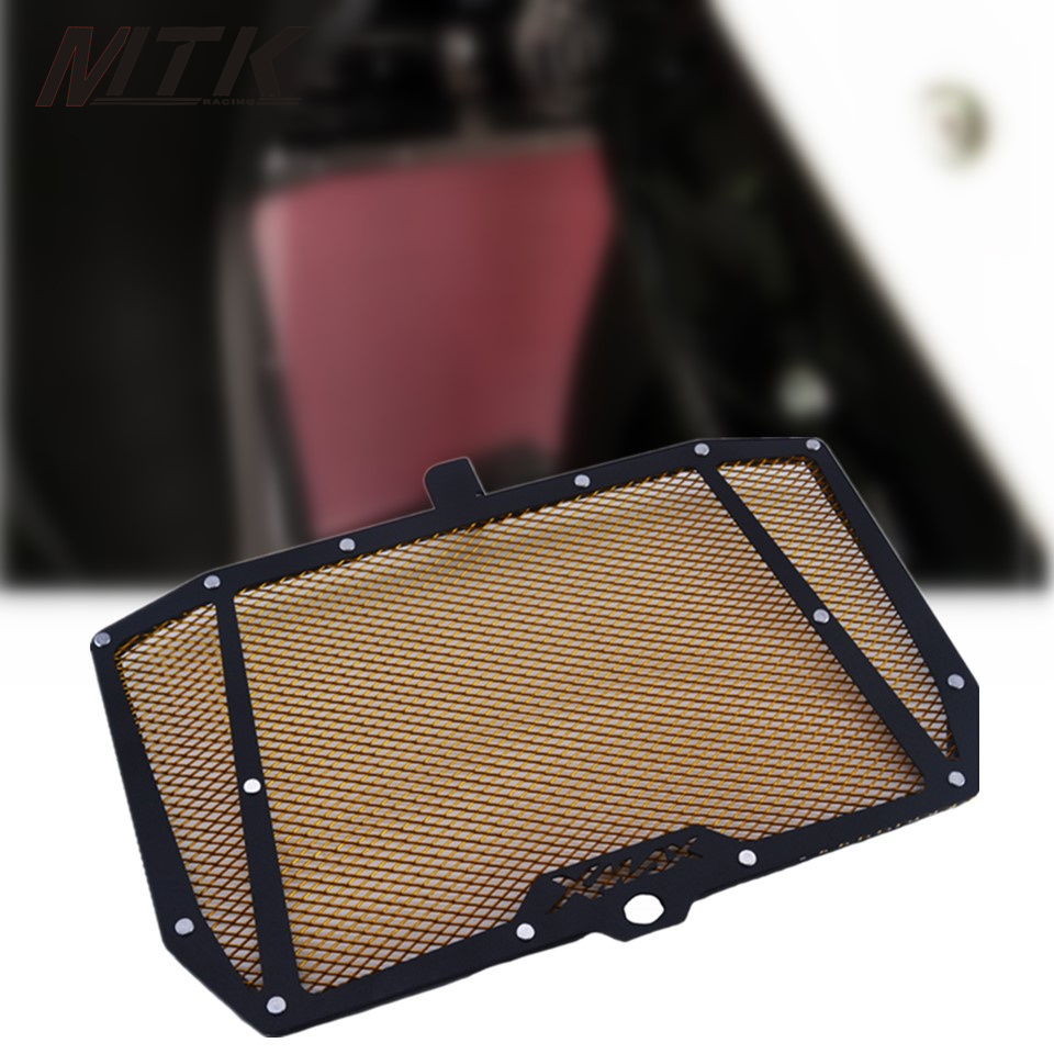 MTKRACING Motor For YAMAHA XMAX 300 2017-2018  Stainless Steel Motorcycle Radiator Grille Guard Cover Protector new motorcycle stainless steel radiator grille guard protection for yamaha tmax530 2012 2016