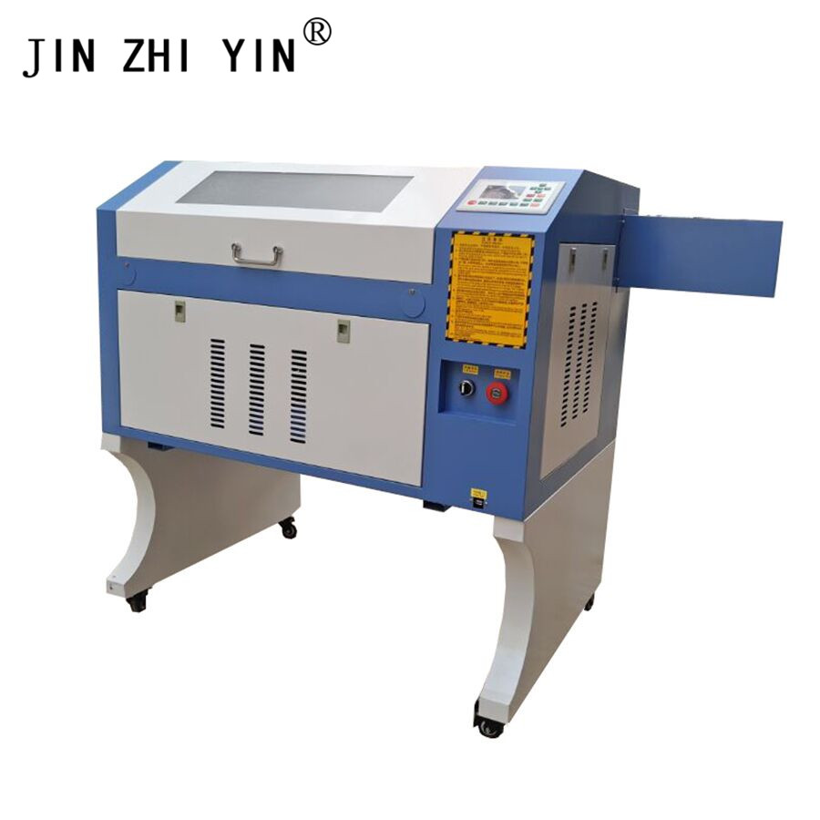 High Quality 4060 Laser Engraver Cutter CO2 Laser Engraving Plywood With Ruida Controller