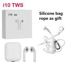 Бесплатный подарок! i10 СПЦ 1:1 Bluetooth наушники Беспроводной гарнитуры Bluetooth 5,0 наушники сенсорное управление гарнитура для всех смартфонов