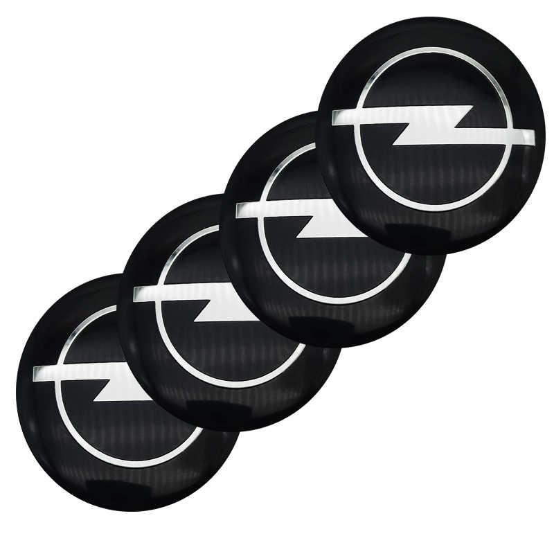 4 pièces de Style de Voiture De Moyeu de Roue Bouchon Autocollants Couvre Emblème Pour Opel H G J Corsa Insignes Astra Antara Meriv Accessoires