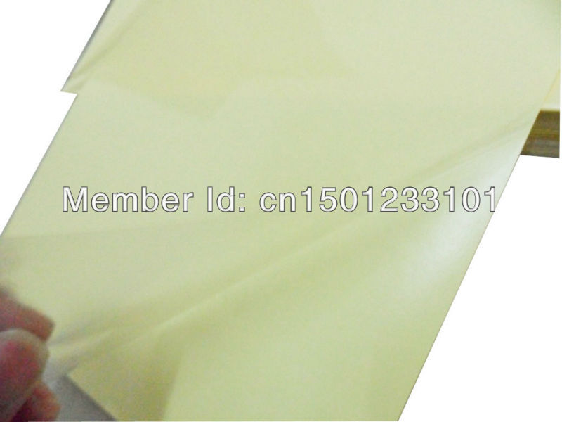 1000 sheets tear resistant water oil proof A4 blank 50 micron clear transparent PET label paper
