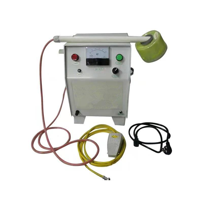 high quality portable electrostatic flocking machine foaming printing machine in spray guns from