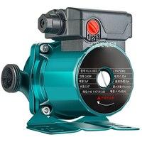 FUJ 160T Household Circulating Pump Mute Stainless Steel Impeller Hot Water Heating Circulating Pump3 Gear Speed Adjustment 220V