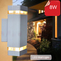 10pcs/lot outdoor wall lamp sconces porch light 8w modern led wall lamp light exterior waterproof up and down side AC85-265V