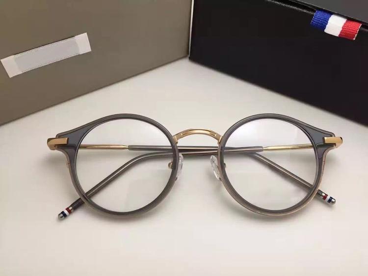 Thom Round prescription Eyeglasses Frames Men And Women Fashion reading Glasses Computer Optical Frame TB807 With Original Box