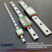 MGN9 CNC 9mm miniature linear rail guide  MGN9C L100 - 600 mm MGN9 linear block carriage or MGN9H narrow carriage cnc part 15mm linear rail guide mgn15 length 450mm with mini mgn15h c linear block carriage miniature linear motion guide way