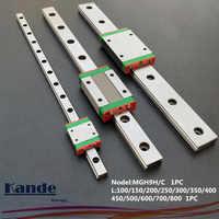 Mgn9 cnc 9mm diminuto guia de trilho linear mgn9c l100-600mm mgn9 transporte de bloco linear ou transporte estreito mgn9h