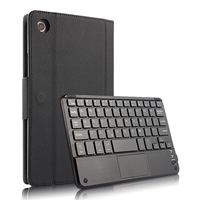 Russian/Hebrew/Spanish Detachable Wireless Bluetooth Keyboard Stand PU Leather Case For Xiaomi MiPad 4 Mi Pad 4 Pad4 8 Tablet