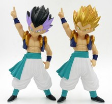 Anime Dragon Ball Z Super Saiyan Gotenks PVC Action Figure Collection Model Toy 8″ 20CM