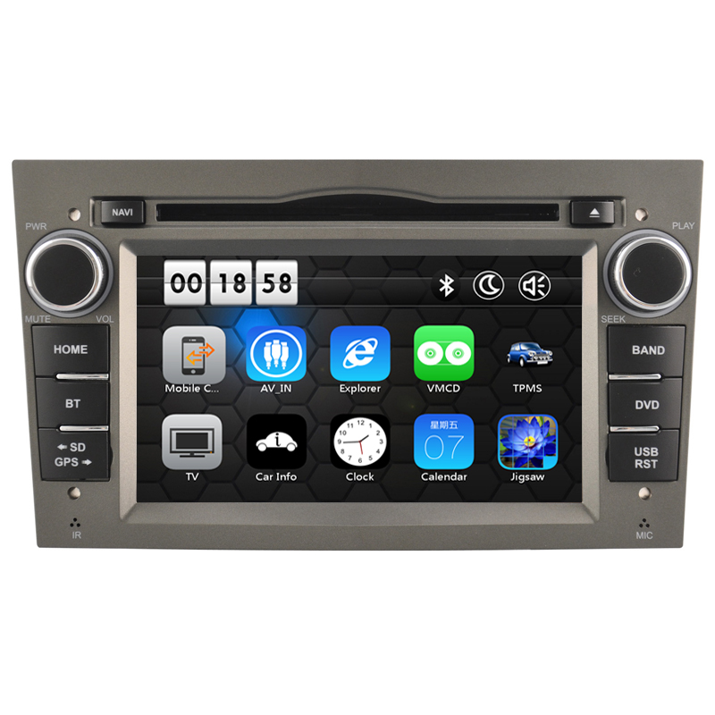 Free Shipping 7' Car DVD Player GPS Navigation system Bluetooth Ipod Can Bus 3G for Opel Corsa Astra Zafira Vectra Meriva