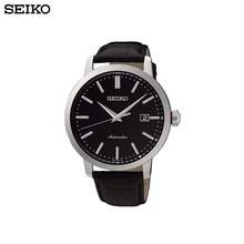 Наручные часы Seiko SRPA27K1 мужские механические с автоподзаводом на кожаном ремешке