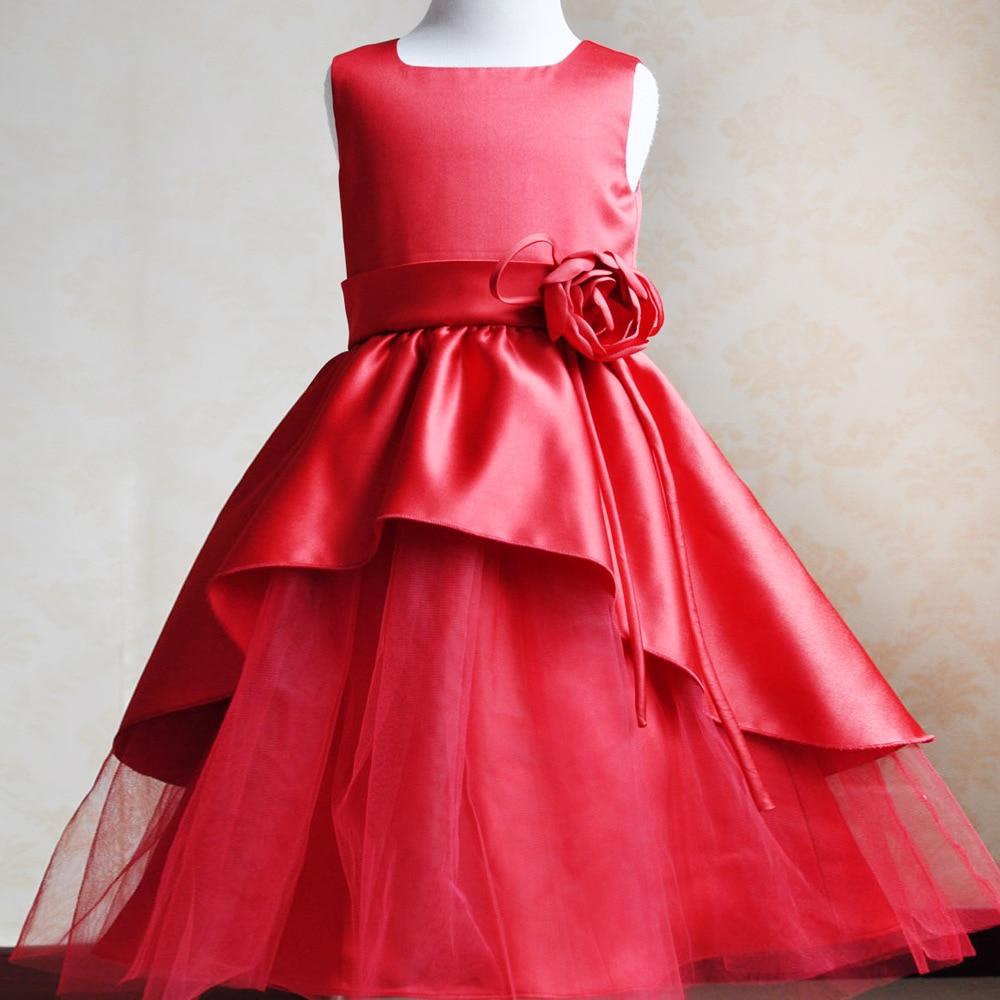 Nicoevaropa New Design Baby Girls Dresses Kids Sleeveless Party ...
