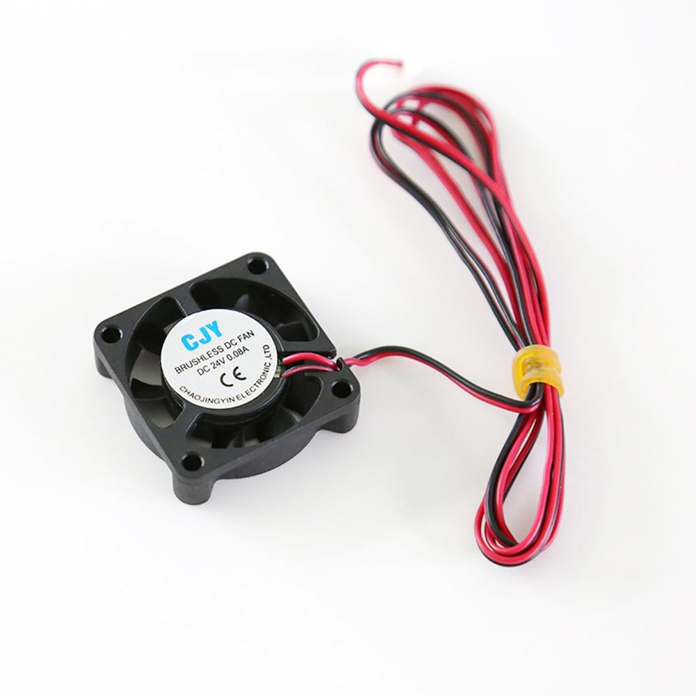 DC 24 в 40 мм Ультра тихий вентилятор охлаждения кулер радиатор для 3d принтер Экструдер процессор