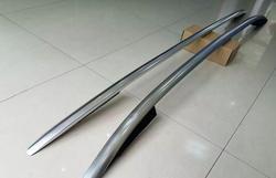 High quality silver oem factory style aluminum side roof rack rail bar for volkswagen vw golf.jpg 250x250