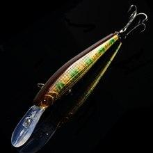 1Pcs 12.5cm 14g japan Hard Bait Laser Minnow Fishing Lure pesca hooks fish wobbler tackle crankbait artificial lures MR-244
