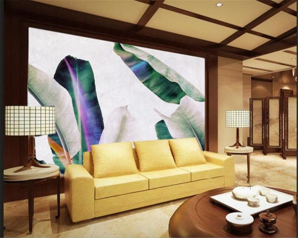 Beibehang Definition 3D Foto Behang Zuidoost aziatische Olieverf ...