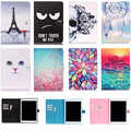 For iPad Air 1 9.7 inch Case Lovely Pattern Wallet Flip PU Leather Tablet Shell Protector For Apple iPad 5 iPad5 Cover Funda