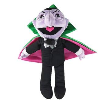 Sesame Street THE COUNT VON COUNT plush toy ELMO Earl of vampire stuffed toys Birthday presents for children Christmas dolls