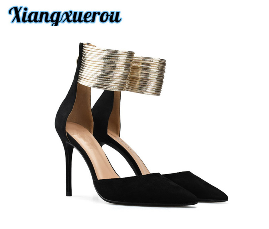 XiangxuerouEarly άνοιξη νέο στυλ ιμάντα - Γυναικεία παπούτσια