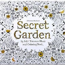 Drawing-Book Secret-Garden-English-Edition Painting Adult Childs for Relieve-Stress Kill-Time