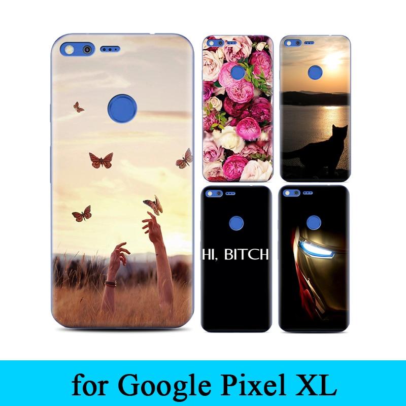 Design Plastic Material Hard Back Phone Case For Google Pixel XL DIY Print Original Protective Cover Skin