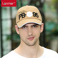 2017 Real Time-limited Letter Adult Casual Men Cotton Adjustable Lanmer Male Sunbonnet Outdoor Cap Baseball Large Brim Summer