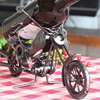Handmade Metal Motor Wine Rack Home Club Table Decration Aircraft