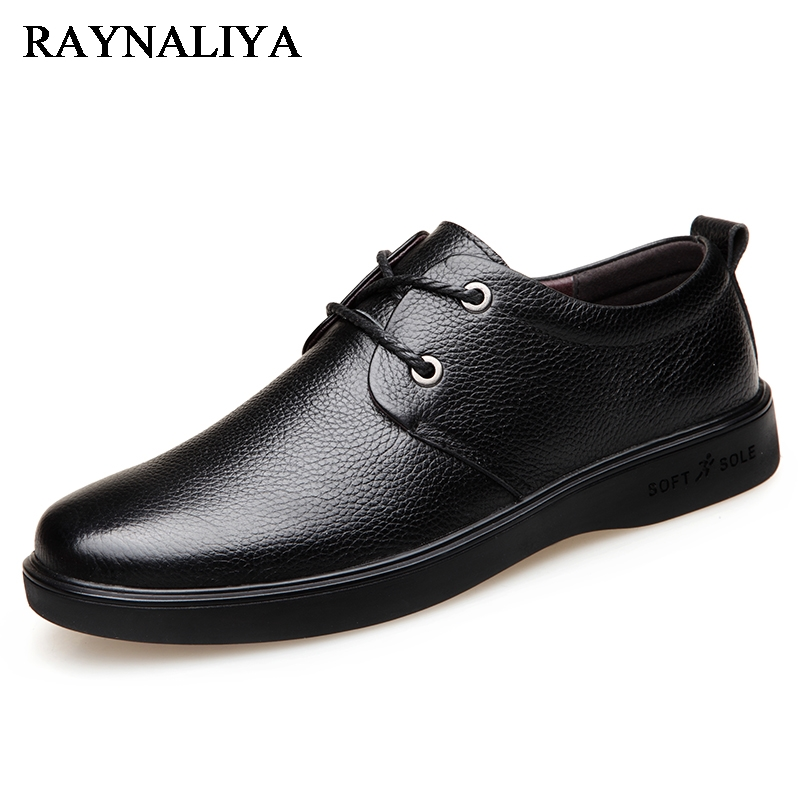 2018 New Brand Men's Loafers Leather Classic Moccasins Men Leather Lace Up Casual Shoes With Comfortable Feet 38-44 BH-B0052 cbjsho brand men shoes 2017 new genuine leather moccasins comfortable men loafers luxury men s flats men casual shoes