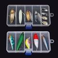 Прозрачный Пластик Ловли Приманка Приманки Ящик Для Хранения Организатор Контейнер Дело бесплатная доставка